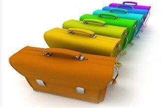 Цветные портфели